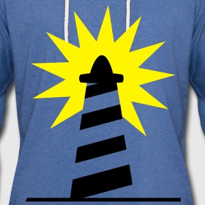 Lighthouse bright sunlight 2c Shirts - Light Unisex Sweatshirt Hoodie