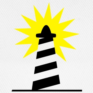 Lighthouse bright sunlight 2c Shirts - Baseball Cap