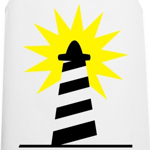Lighthouse bright sunlight 2c Shirts - Cooking Apron