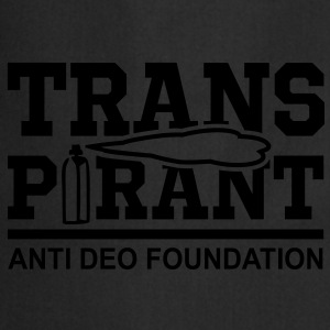 TRANSPIRANT - ANTI DEO FOUNDATION Fun T-Shirt WB - Keukenschort