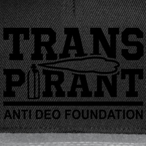 TRANSPIRANT - ANTI DEO FOUNDATION Fun T-Shirt WB - Snapback Cap