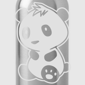 Kawaii Panda - Pandabär Shirts - Water Bottle