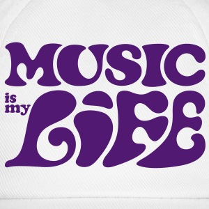 Music is my life. Borse - Cappello con visiera