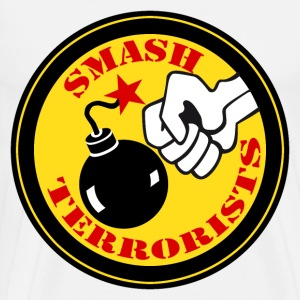 smash terrorists Tee shirts manches longues - T-shirt Premium Homme