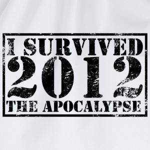 I survived the Apocalypse 2012 T-Shirt - Drawstring Bag