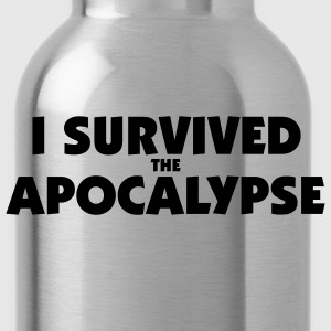 I survived the Apocalypse T-Shirt - Trinkflasche
