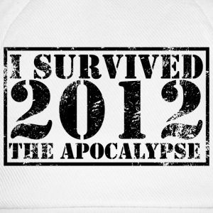 I survived the Apocalypse 2012 T-Shirt - Baseballkappe