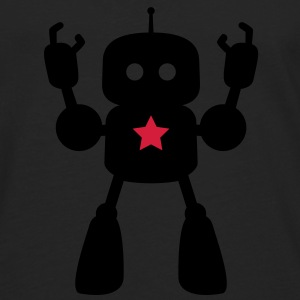 I Robot Star Tee shirts - T-shirt manches longues Premium Homme