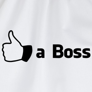 Like a Boss Bottles & Mugs - Drawstring Bag