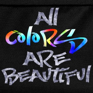 all_colors_are_beautiful Tee shirts - Sac à dos Enfant