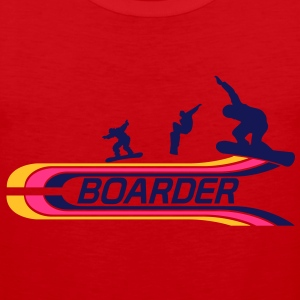 Boarder T-Shirts - Men's Premium Tank Top