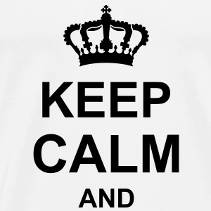 keep_calm_and_g1 Shirts - Men's Premium T-Shirt