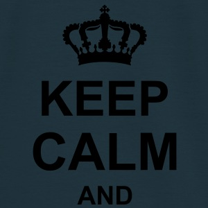 keep_calm_and_g1 Sweat-shirts - T-shirt Homme