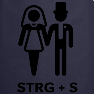 STRG + S (computer geek wedding) T-Shirt - Cooking Apron