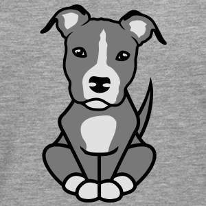 AmStaff Illu 2013 American Staffordshire Terrier Sweat-shirts - T-shirt manches longues Premium Homme
