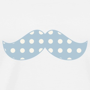 body MC moustache bleu - T-shirt Premium Homme
