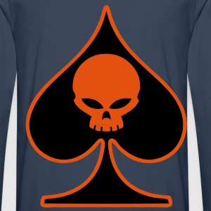 poker skull Hoodies & Sweatshirts - Men's Premium Longsleeve Shirt
