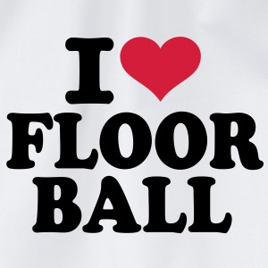 I love Floorball  T-Shirts - Turnbeutel