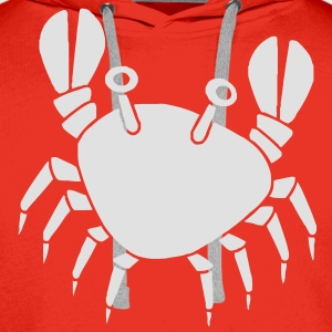 Cute Crab Shirts - Men's Premium Hoodie
