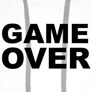 Game Over - Stag Night Slogan Bottles & Mugs - Men's Premium Hoodie