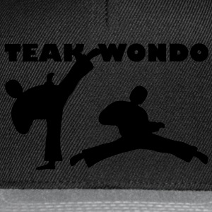 Teakwondo - Tournament Hoodies & Sweatshirts - Snapback Cap