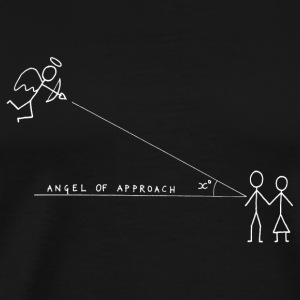 Angle of Approach (White) Bags  - Men's Premium T-Shirt