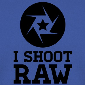 I Shoot RAW - Star Shirts - Men's Sweatshirt