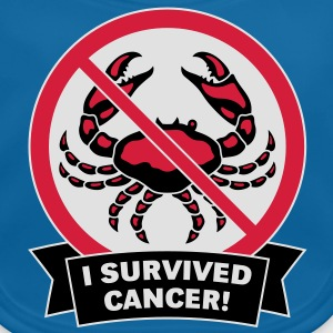 I survived cancer! (3C) T-Shirt - Baby Bio-Lätzchen