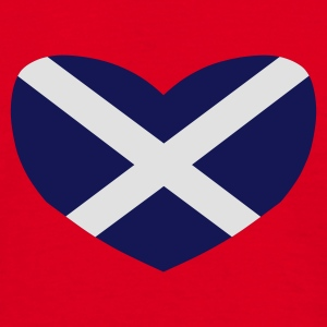 Red Love Scotland Bags  - Men's T-Shirt