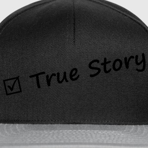 True story - Casquette snapback