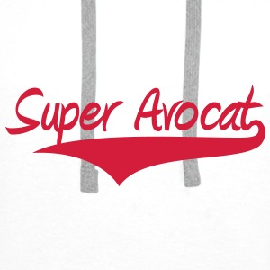 Super Avocat ! Tee shirts - Sweat-shirt à capuche Premium pour hommes