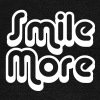 Smile More 1 Hoodies & Sweatshirts - Women's Boat Neck Long Sleeve Top