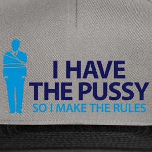 I Have The Pussy (2c)++2013 Sacs - Casquette snapback