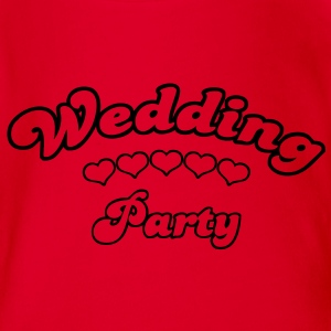 wedding party  Shirts - Baby bio-rompertje met korte mouwen
