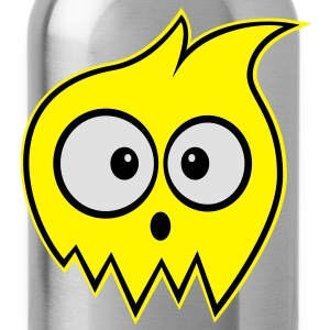 Surprised Ghost Kids' Hoodie - Water Bottle