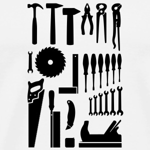 Tool, tool box, tool cabinet Bottles & Mugs - Men's Premium T-Shirt