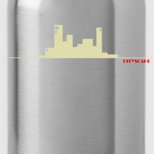 City Scape - Water Bottle