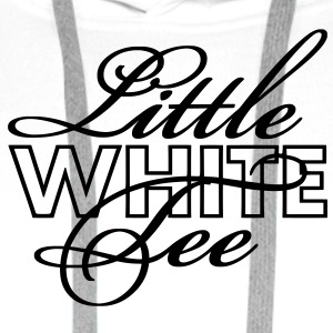 Little White Tee Bold T-Shirts - Men's Premium Hoodie