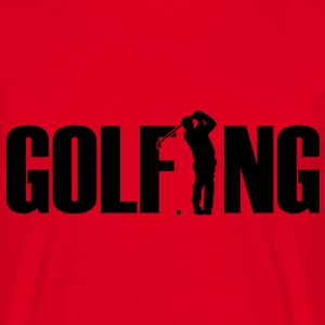golfing Sweat-shirts - T-shirt Homme