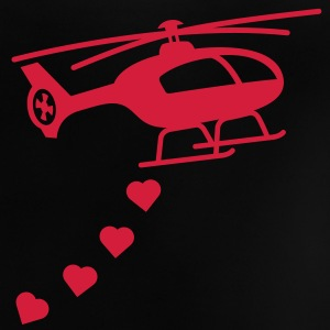 Army Helicopter Bombing Love Shirts - Baby T-Shirt