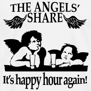 The Angels' Share Long sleeve shirts - Men's Premium T-Shirt