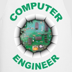computer engineer Long sleeve shirts - Cooking Apron