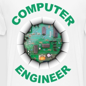 computer engineer Sweat-shirts - T-shirt Premium Homme