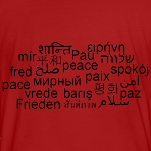 FRIEDEN - PEACE - PACE - INTERNATIONAL PEACEBAG - Men's Organic T-shirt