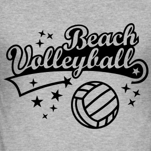 Beach Volley - Summer Sun Beach Sweat-shirts - Tee shirt près du corps Homme