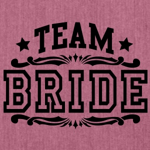 team bride Hoodies & Sweatshirts - Shoulder Bag made from recycled material
