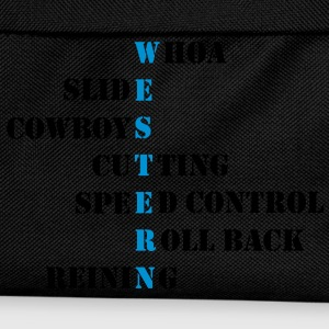 Western words cowboys T-Shirts - Kids' Backpack