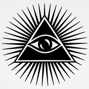 All seeing Eye, Pyramid, Horus, Triangle, Symbols, T-shirts & Hoodies - Baseball Cap