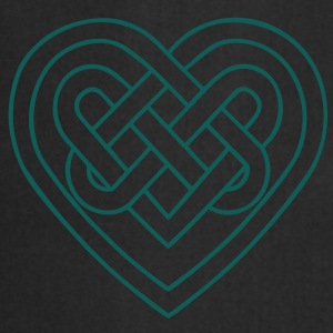 Celtic heart, endless knots, love & loyalty Bluzy - Fartuch kuchenny
