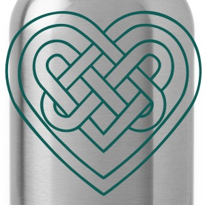 Celtic heart, endless knots, love & loyalty T-shirts - Vattenflaska